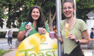 Istorija Adonisa - inovacije - Teasy čajne kašičice