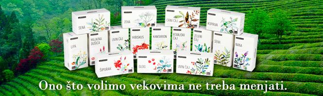 Filter čajevi - Klasični čajevi