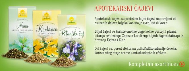 Rinfuzni čajevi - Apotekarski čajevi