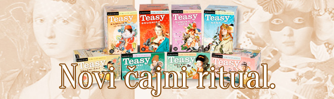 Teasy čajevi - Pakovanja